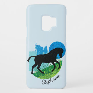 Frolicking Horse Samsung Galaxy S9 Case