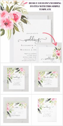 From 0.40 Blush Pink Olive Wedding Suite