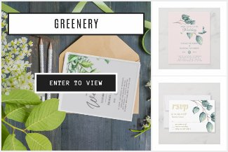 From $/£0.55 Greenery Wedding