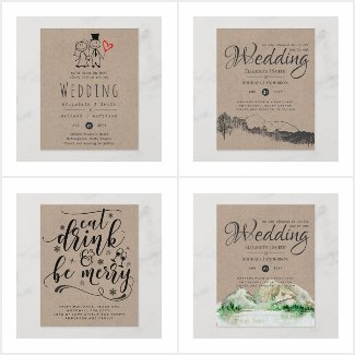 From $0.61 Kraft - Low Budget Wedding