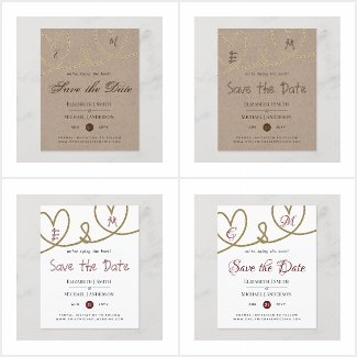 From $0.61 Save the Dates - Low Budget Wedding