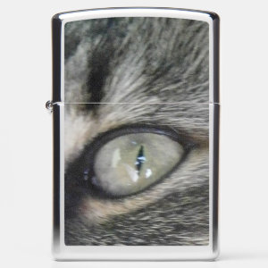 From a Cats Eye Zippo Lighter
