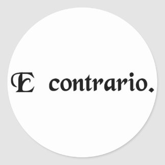 From a contrary position stickers