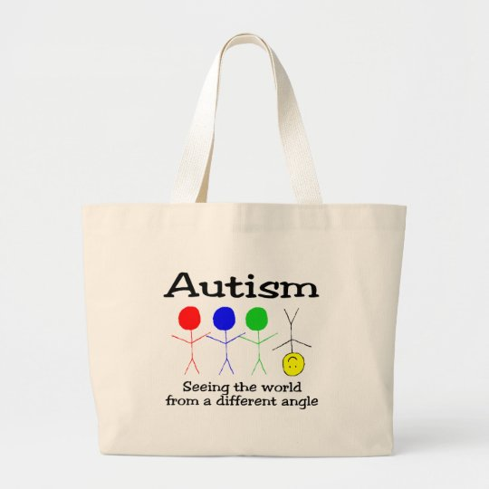 ....From A Different Angle (People) Large Tote Bag