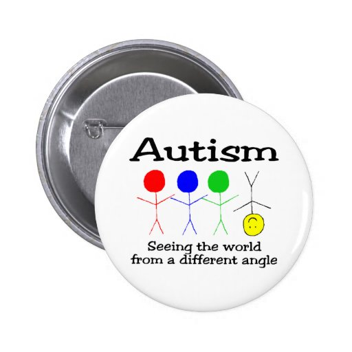 ....From A Different Angle (People) Pinback Button