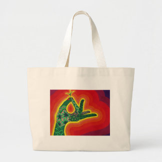 from a tiny acorn seed, a mighty oak does grow large tote bag