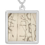 From Albany to Newborough 29 Square Pendant Necklace