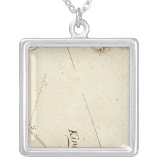 From Albany to Newborough 31 Square Pendant Necklace