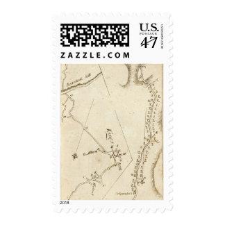 From Albany to Newborough 31 Stamp