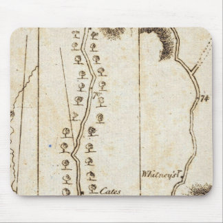 From Albany to Newborough 32 Mousepad