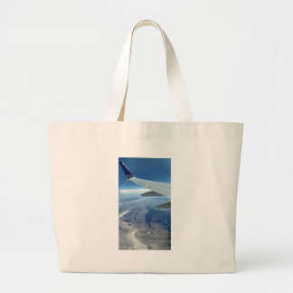 From an Airplane Large Tote Bag