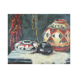 From an original painting, oil on canvas. canvas print