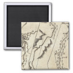 From Annapolis to Bowlinggreen Ordy 70 2 Inch Square Magnet