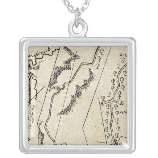 From Annapolis to Bowlinggreen Ordy 70 Square Pendant Necklace