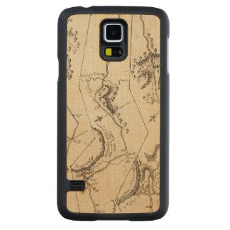From Annapolis to New Kent Courthouse 74 Maple Galaxy S5 Slim Case