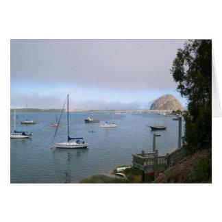 From Beautiful Morro Bay Card