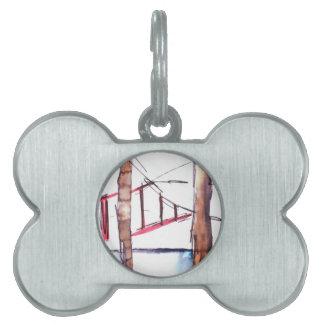From Behind the Bars Pet Name Tags