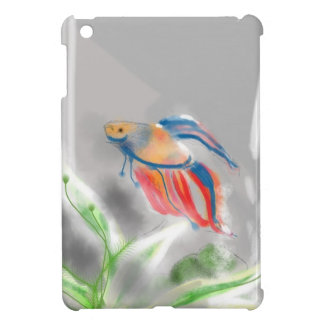 From Blue to Red Betta Fish iPad Mini Cover
