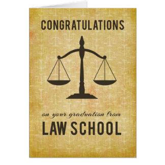 From Both of Us Law School Graduation Congratulati Card