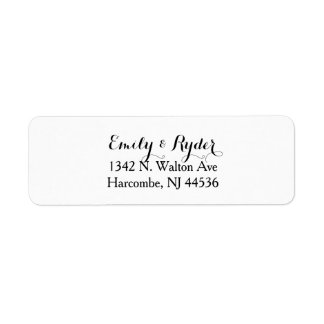 from both of us - return address labels