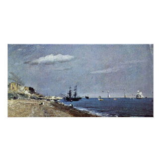 From Brighton Beach With Sailboats (Coal Ships Fro Photo Cards