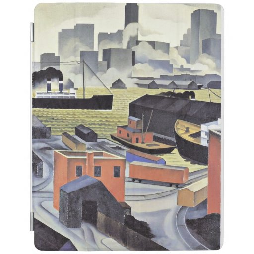 From Brooklyn Heights, fine art by George Ault iPad Smart Cover