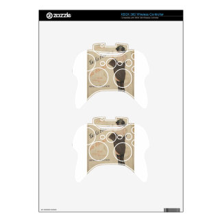 From Brown to Blonde by Raphael Kirchner Xbox 360 Controller Decal