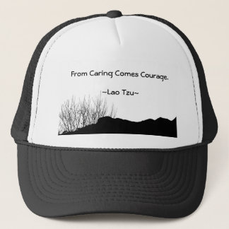 From Caring Comes Courage. Trucker Hat