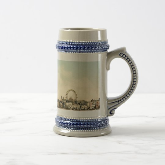 From Central Pier, Blackpool, England Beer Stein