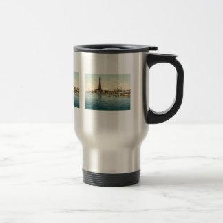 From Central Pier, Blackpool, England Travel Mug