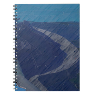 From Chaos To Sea Dunes Notebook