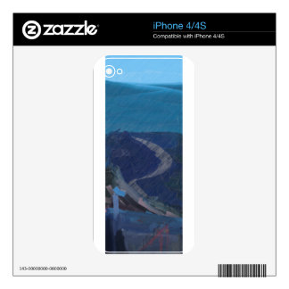 From Chaos To Sea Dunes Decal For The iPhone 4S