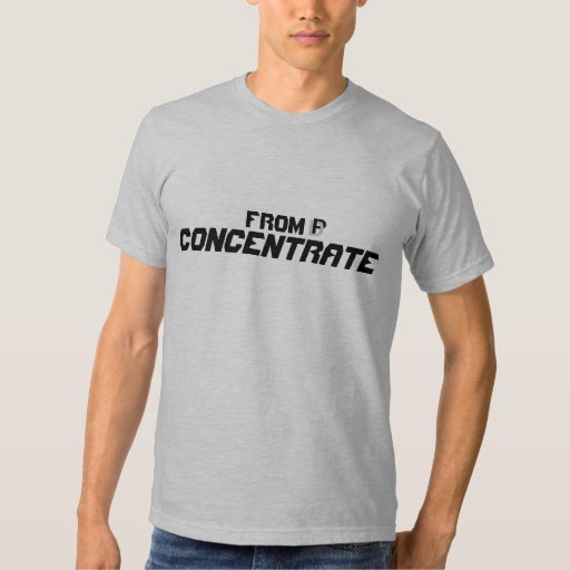 From Concentrate Shirts