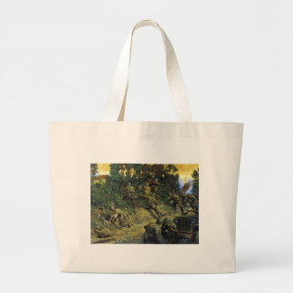 From Cornrow to Hedgerow by Keith Rocco Jumbo Tote Bag