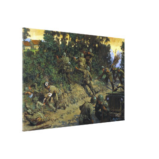 From Cornrow to Hedgerow by Keith Rocco Canvas Print