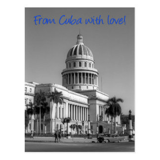 From Cuba with love Postcard