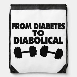 From Diabetes To Diabolical Drawstring Backpack