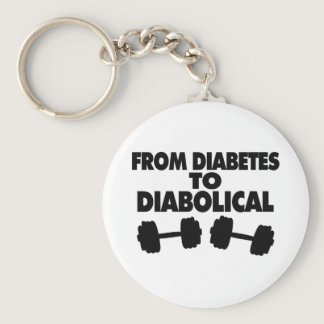 From Diabetes To Diabolical Keychain