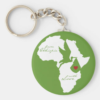 From Ethiopia w/ Love Adoption Key Chains