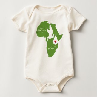 From Ethiopia w/ Love Adoption shirt