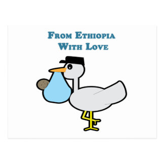 From Ethiopia with Love Postcard