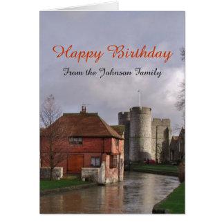 From Family Happy Birthday Card Custom
