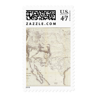 From Fort Smith to the Rio Grande Postage Stamp