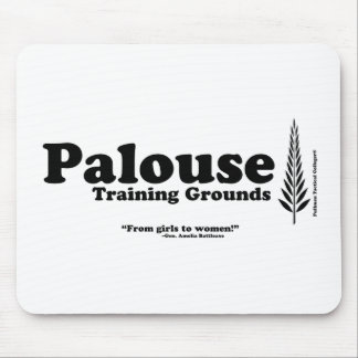 """From Girls to Women""/Palouse Training Grounds Mouse Pad"