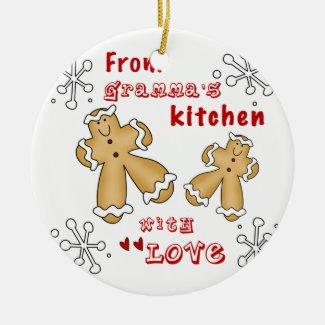 From Gramma's Kitchen Ceramic Ornament