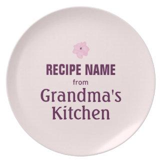 From Grandma's Kitchen Dinner Plate