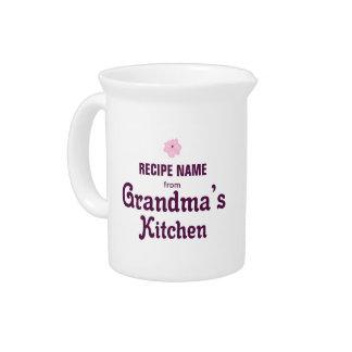 From Grandma's Kitchen Drink Pitcher