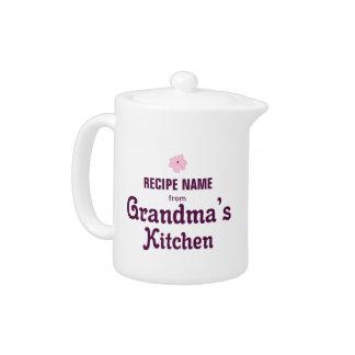 From Grandma's Kitchen Teapot