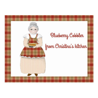 From Grandma's Kitchen to Yours Recipe Card
