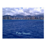 From Hawaii wishing you were here! Post Card